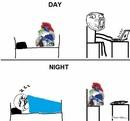 Любители поспать
