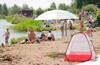 Катаемся и купаемся (через Лосиный остров на Байк озеро.)