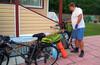 Велорыба и велокупаджо в Клинском районе