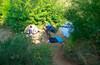 Еду пробить новое место.  Под Уманью, кристально чистое карьерное озеро, со скалами и вышкой.