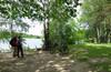 По берегу Клязьминского водохранилища