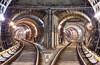 Катушка по туннелям Кольцевой Линии Московского Метрополитена