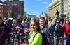 Доставочная из ЮАО на Велопарад Let's bike it