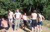 Кони---> карьер. Солнечные выходные!))