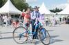 Леди на велосипеде 2019