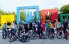 Обкатка новой велодорожки до Музеона