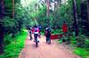 Кузьминский парк - пятничновечерняя