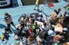 Пирогово (Пироговское вдхр) - вейкборд - учимся и купаемся