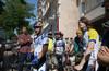 Термінова акція протесту велосипедистів!