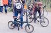 Велозаезд на праздник любителей складных велосипедов 3,0