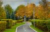 По осенним паркам и набережным
