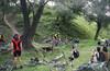 Кантрийная велогонка в Тоннельной балке