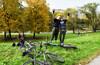 Классика опавших листьев 2 или вокруг Серебряно-Виноградного пруда
