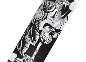 Скейт Speed Demons Native Skull 8.0