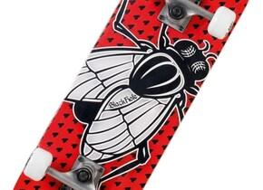 Скейт Black hole Fly