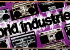 Скейт World Industries Boom Box Purple