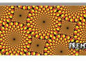 Скейт Premium Skateboards Premium Kaleidoscope: Yellow
