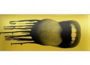 Скейт Creme Mouth I Yellow