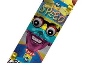 Скейт Speed Demons Face Smash Super Brother