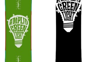 Сноуборд Amplid Greenlight Freeride Board