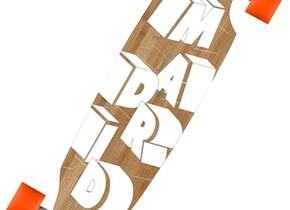 Скейт Madrid 3D Wood