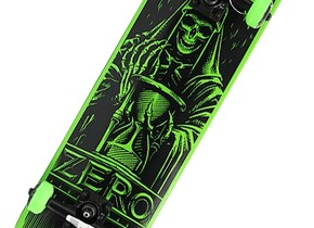 Скейт Zero Cole Angel of Death Skateboard