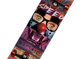 Скейт Speed Demons Face Smash Joker