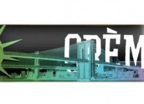 Скейт Creme World black New York