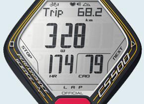 ВелокомпьютерыPolar CS500 TDF