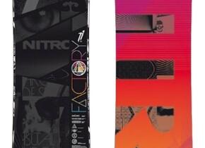 Сноуборд Nitro Factory Series T1