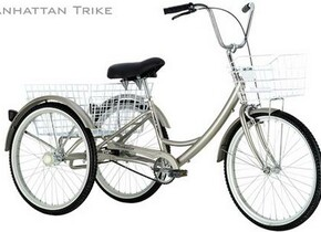 Велосипед KHS Manhattan Adult Tricycle