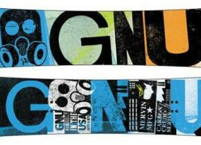 Сноуборд Gnu Carbon Credit Series BTX
