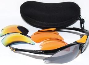 Очки и маскиExustar CSG05-BK (RAIN+ORAN+LAS BLACK) BLACK/ORANGE