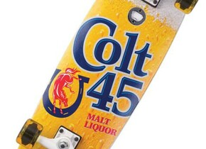 Скейт Santa Cruz Colt 45 40 Ounce Cruzer
