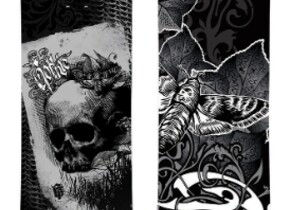 Сноуборд Black Fire Gothic