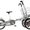 Велосипед Eltreco Taga с Одним Креслом и Корзиной