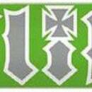 Скейт Flip HKD Green/ Gray