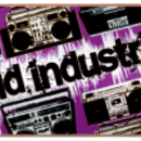 Скейт World Industries Boom Box Purple