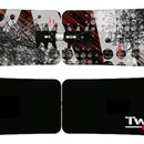 Сноуборд F2 Twistboard Agent Black White