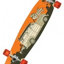 Скейт Stella Longboards Kicktail Woody