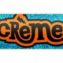 Скейт Creme Logo Point Blue